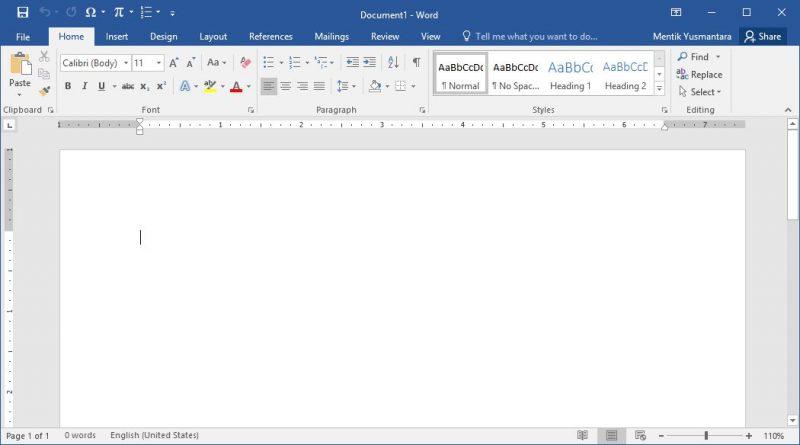 Microsoft Word Adalah