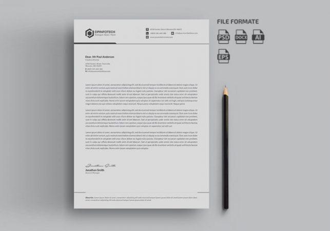 Kop Surat Profesional