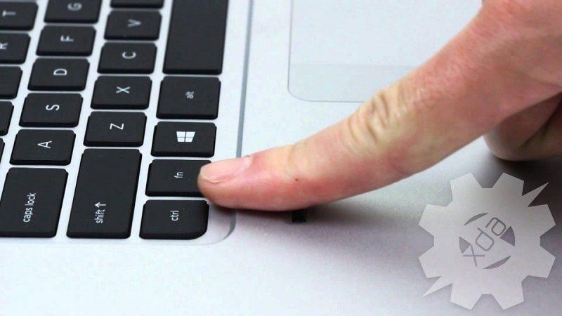 Jenis Input Fingerprint Scanner