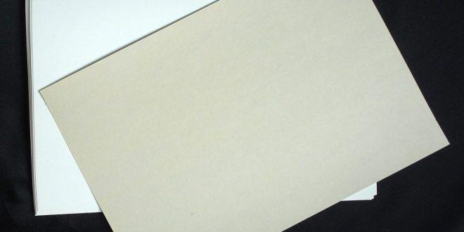 Contoh Kertas Duplex untuk Pilih sertifikat