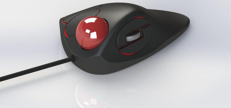 Trackball Mouse di Komputer