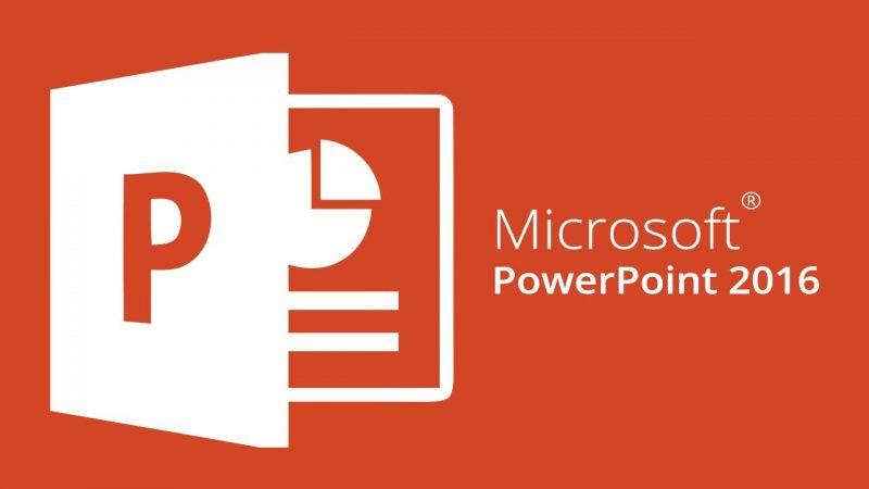 PowerPoint versi 2016