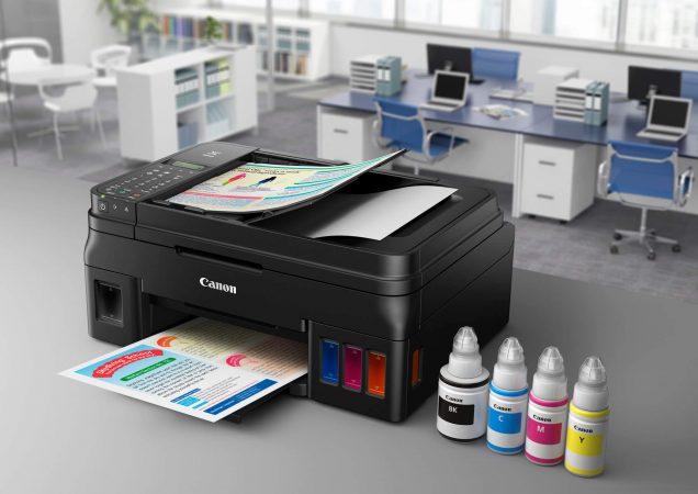 Cara Isi Tinta Warna Printer Canon