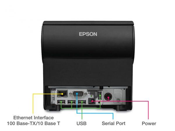 Cek Sambungan Port Kabel Printer
