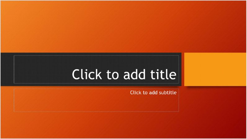 Contoh Desain MS PowerPoint
