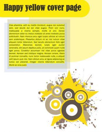 Desain Dengan Warna Kuning Modern