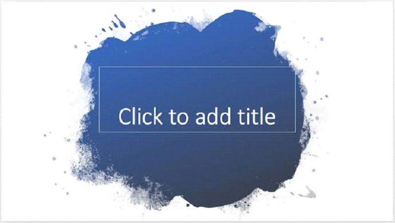 PaintSplash PowerPoint