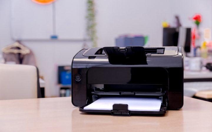 Gunakan Printer yang Sudah Diinstall