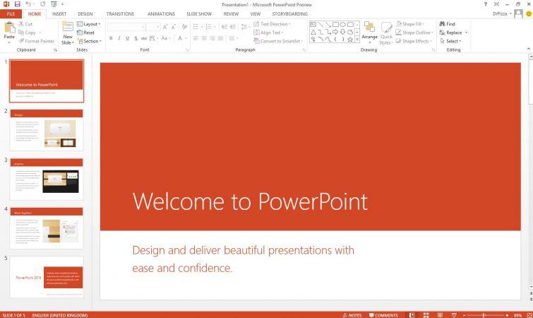 Cara Ganti Ukuran Slide PowerPoint
