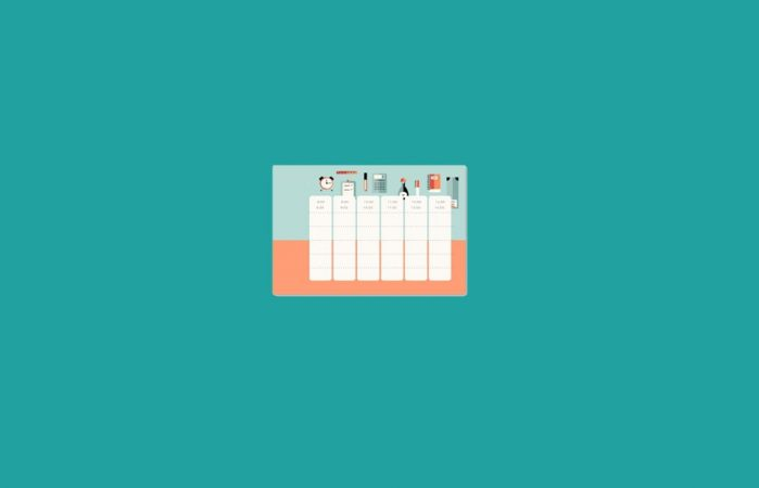 Contoh Jadwal Template Pelajaran