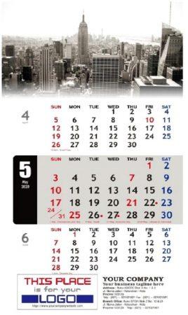 Desain Kalender 2020 Modern