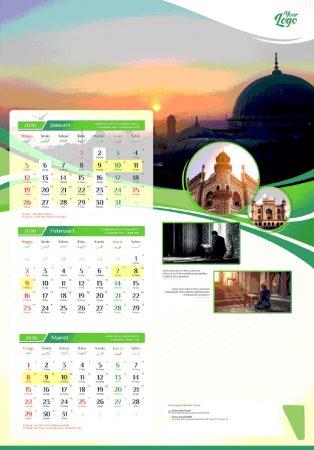 Kalender 2020 tema Islam