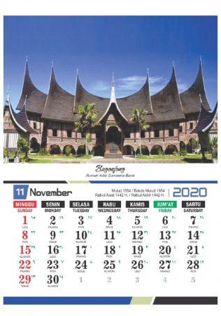 Kalender 2020 Tema Pendidikan