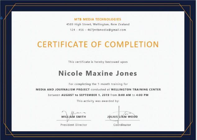 Template Sertifikat Seminar atau Pelatihan