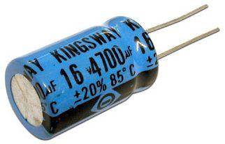 Kapasitor Elektrolit ELCO